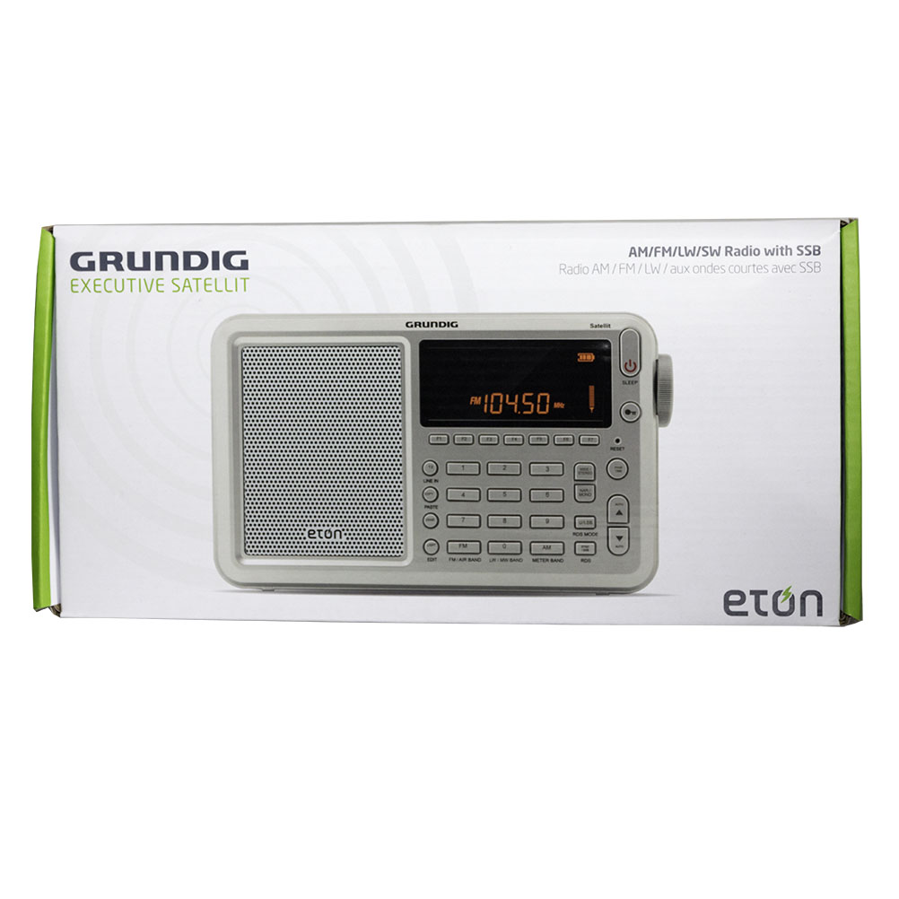 Eton Executive Satellit AM/FM-Stereo/Shortwave/Airwave Band/DAB радиоприемник